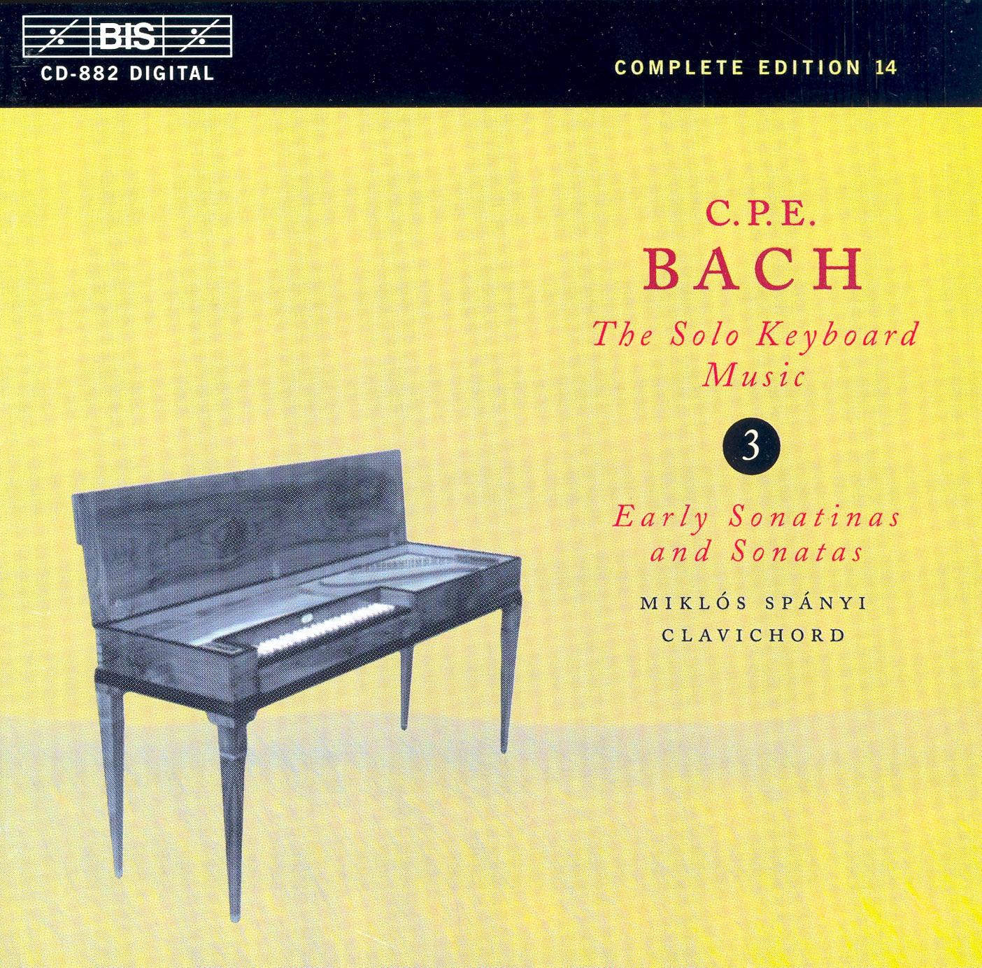 Keyboard Sonata In D Minor, Wq. 65/3, H. 5: I. Allegro Di Molto