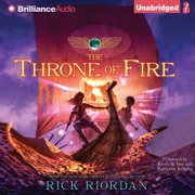 Download The Throne of Fire: Kane Chronicles, Book 2 (Unabridged) Audio Book