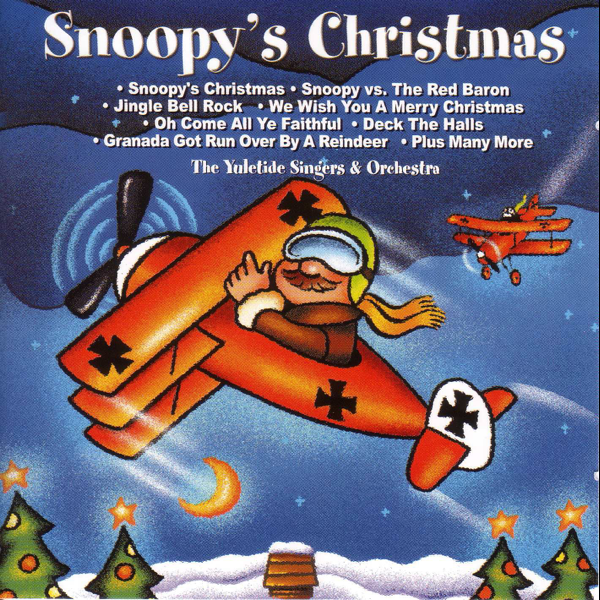 snoopys christmas by the yuletide singers orchestra on apple music - Snoopy And The Red Baron Christmas Song