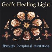 Rev. Mary Lee Bergeron with Elizabeth Farr, harpist - God's Healing Light artwork