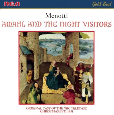Menotti: Amahl and the Night Visitors - Thomas Schippers & Symphony of the Air album