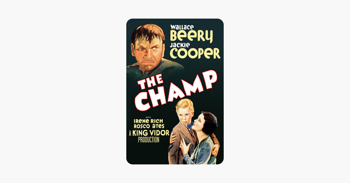 The Champ (1931) on iTunes