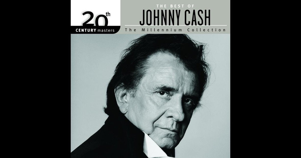 20th century masters the millennium collection the best of johnny cash by johnny cash on. Black Bedroom Furniture Sets. Home Design Ideas