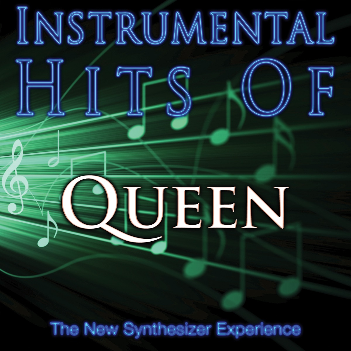 Instrumental Hits Of Queen The New Synthesizer Experience CD cover