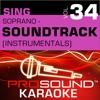 Sing Soprano Soundtrack Vol 34 Karaoke Performance Tracks