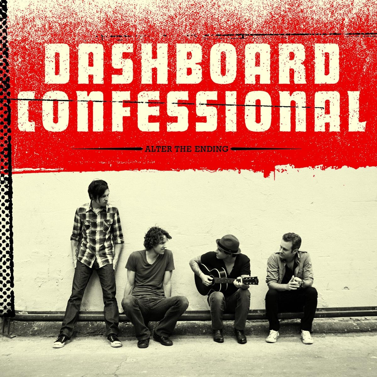 Alter the Ending Bonus Track Version Dashboard Confessional CD cover