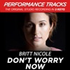 Don't Worry Now (Performance Tracks) - EP, Britt Nicole