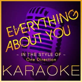 Everything About You (Karaoke Version) [In the Style of One Direction] -  Single by High Frequency Karaoke