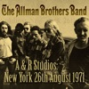 A & R Studios, The Allman Brothers Band