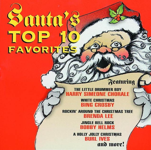 Santa's Top 10 Favorites by Various Artists on Apple Music