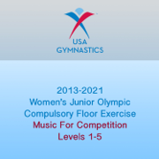 2013-2021 Women's Junior Olympic Compulsory Floor Exercise (Music For Competition) - USA Gymnastics - USA Gymnastics