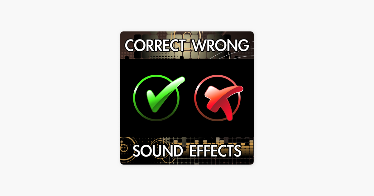 Correct Wrong Sound Effects by Finnolia Sound Effects