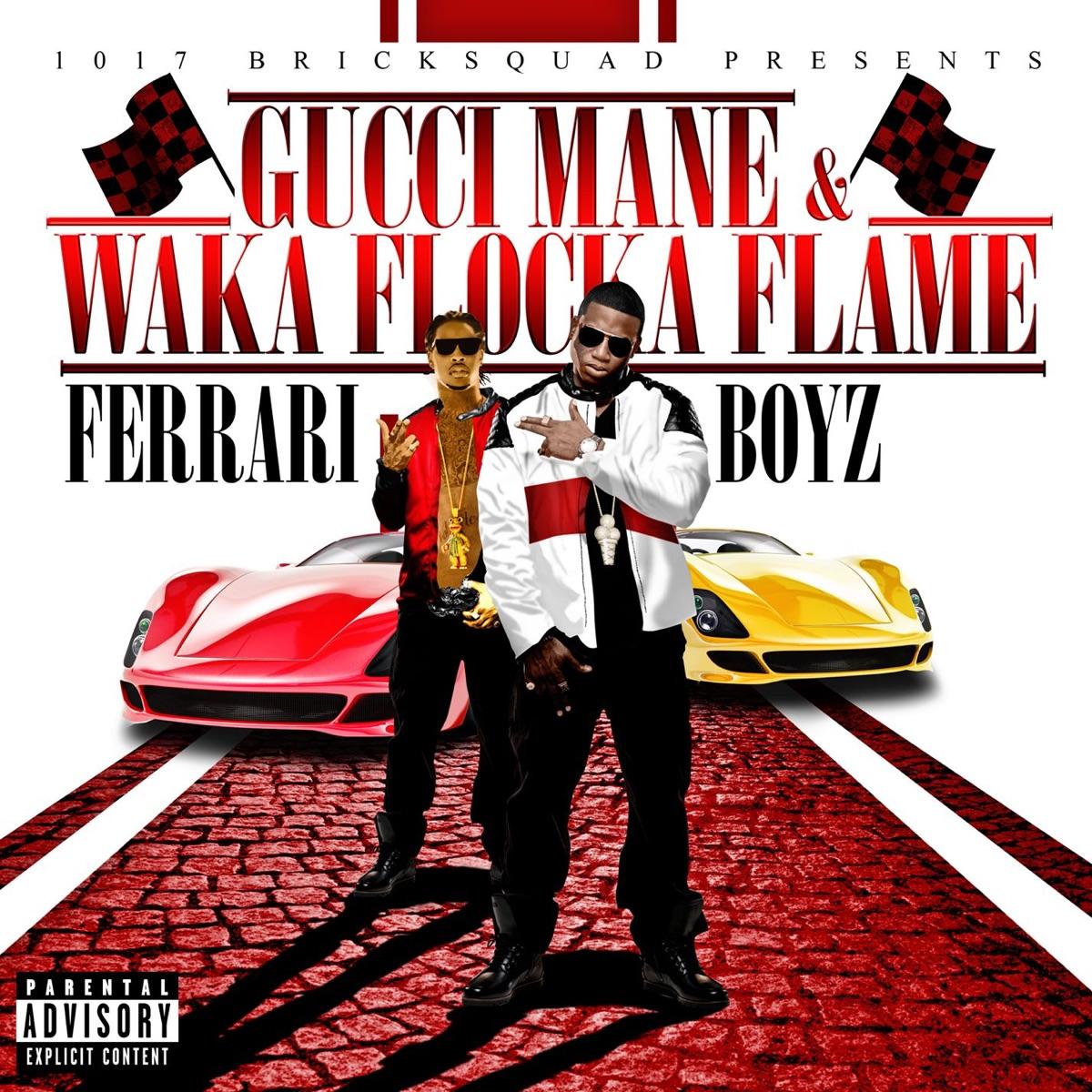 Ferrari Boyz Album Cover by Gucci Mane & Waka Flocka Flame