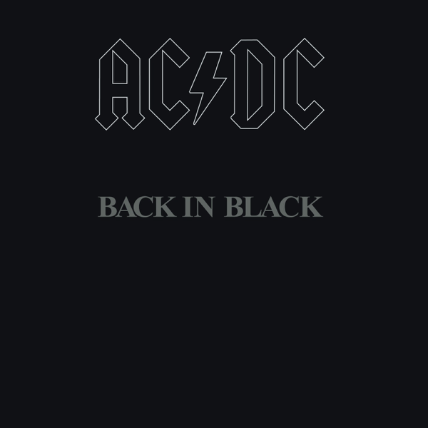 AC/DC — Back in Black (1980)