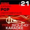 Sing Soprano - Pop, Vol. 21 (Karaoke Performance Tracks)