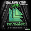 3LAU & Paris & Simo - Escape (feat. Bright Lights) artwork