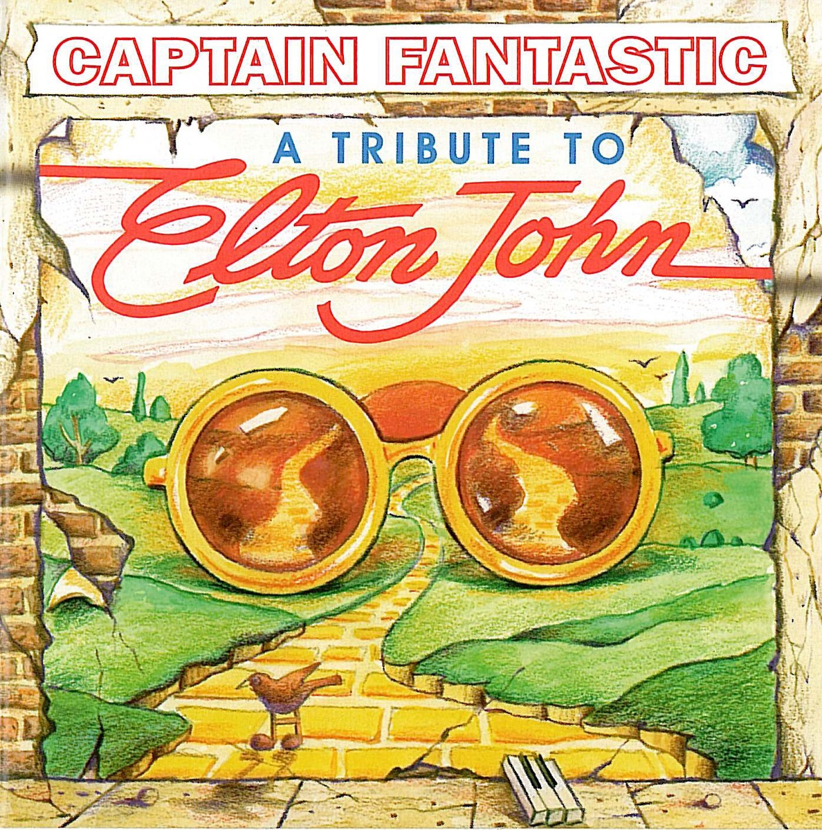 Captain Fantastic A Tribute to Elton John Pickin On Series CD cover