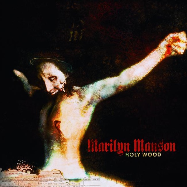 Holy Wood In the Shadow of the Valley of Death Marilyn Manson CD cover