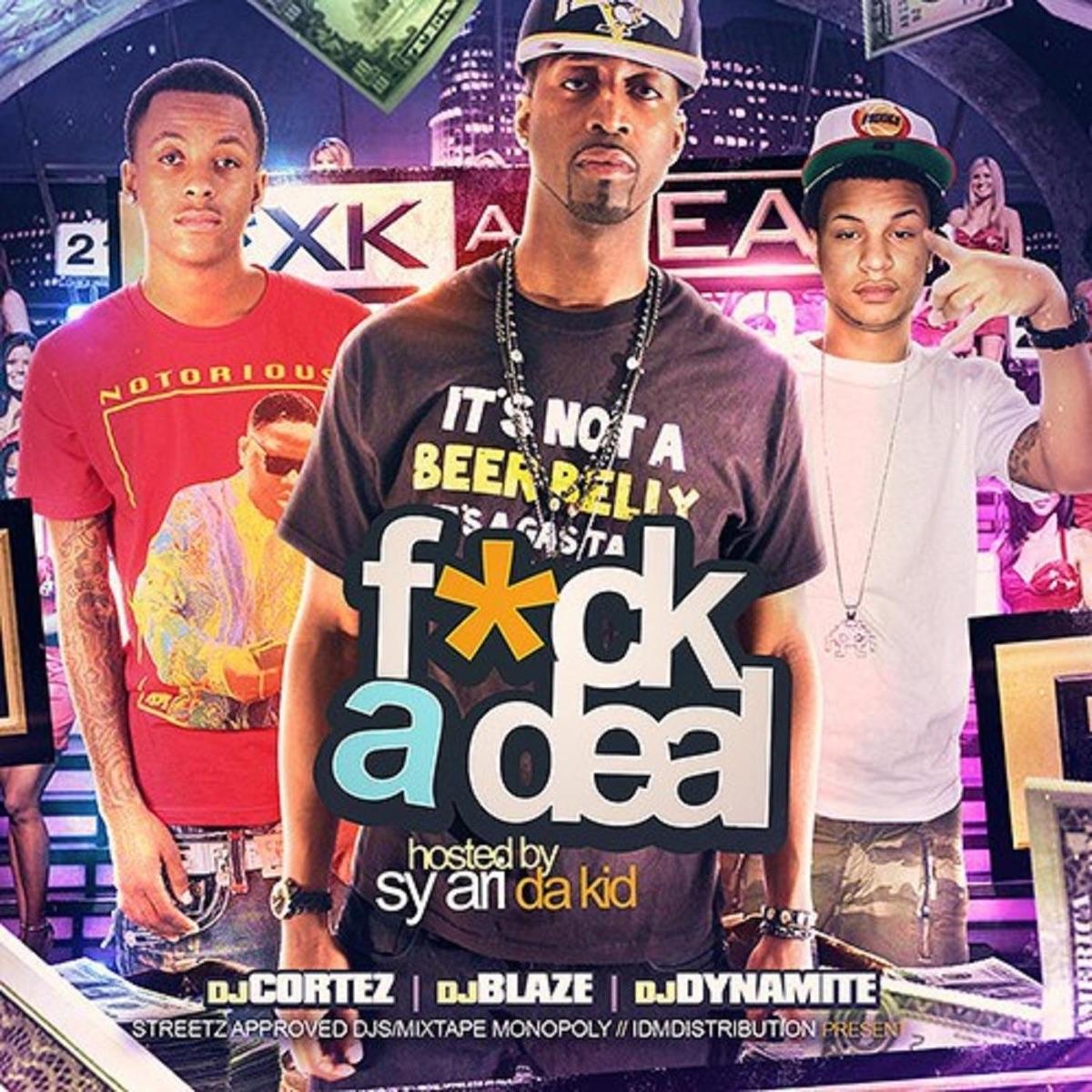 Fck a Deal Vol 1 Compilation FAD The Series CD cover