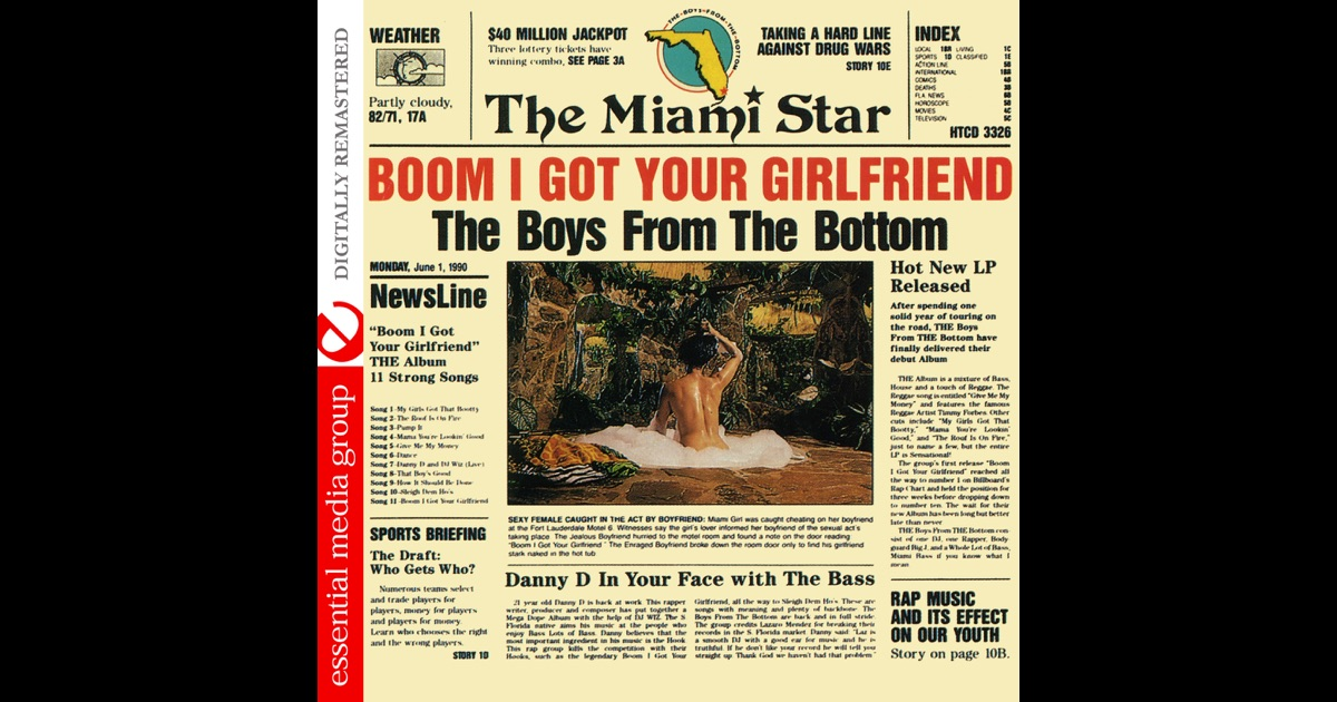 Lyrics containing the term: boom i got your girlfriend by ...