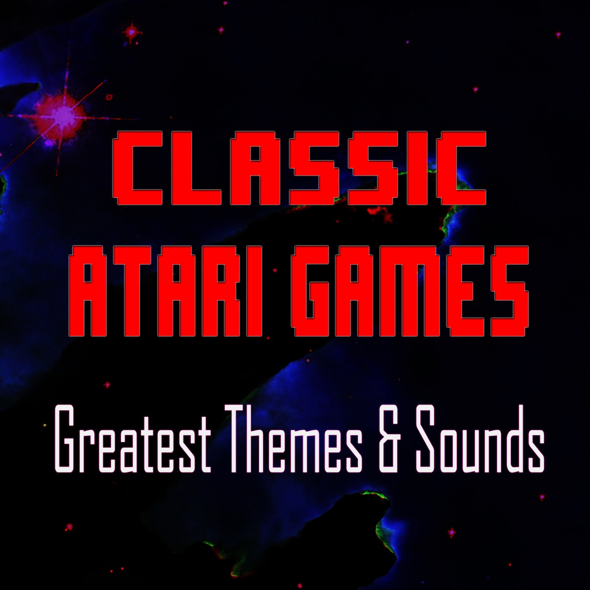 Classic Atari Games - Greatest Themes  Sounds 8-Bit Arcade CD cover