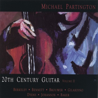 20th Century Guitar volume II by Michael Partington for the Classical guitar