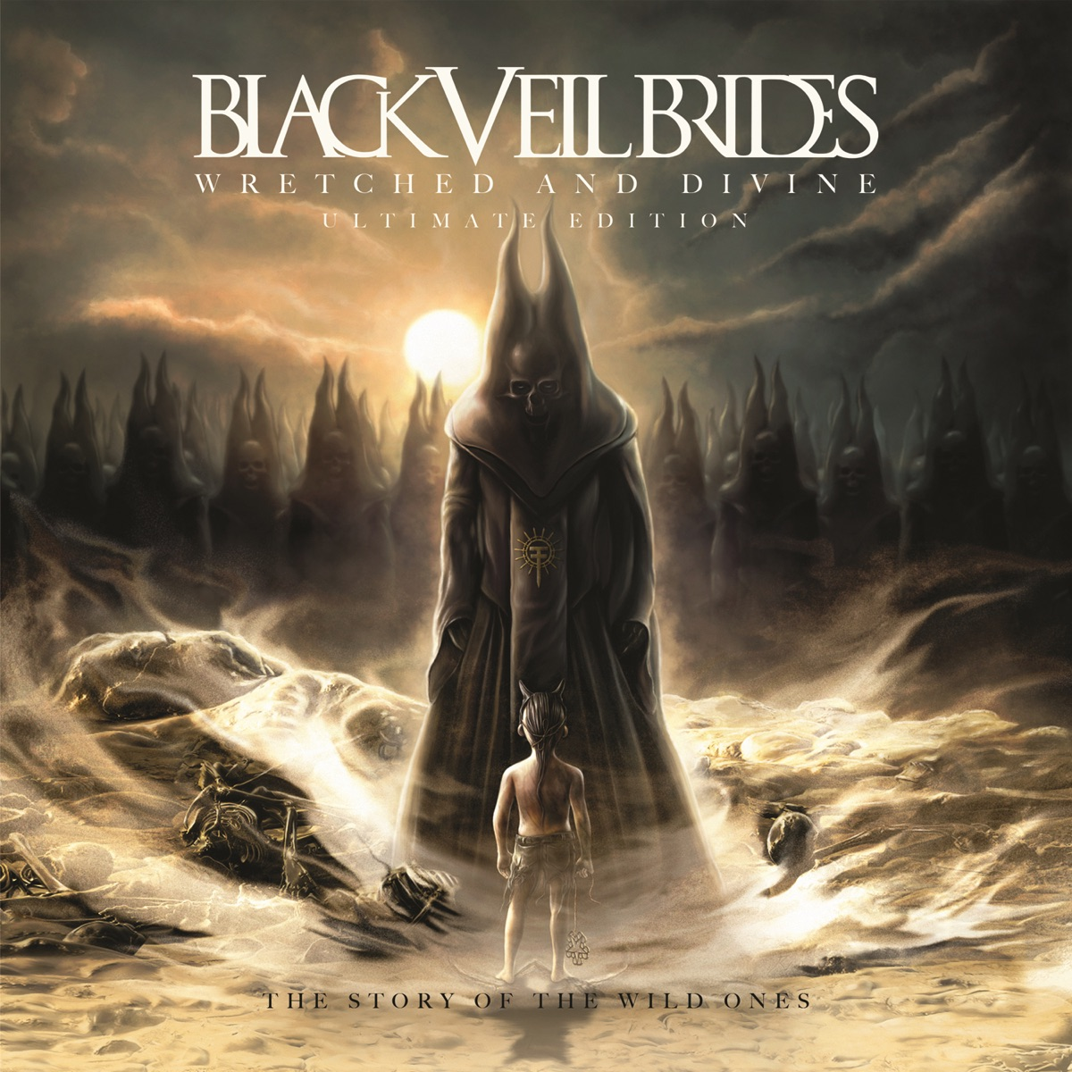 Wretched and Divine The Story of the Wild Ones Ultimate Edition Black Veil Brides CD cover