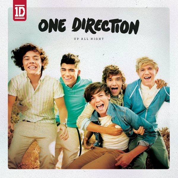 Up All Night One Direction CD cover