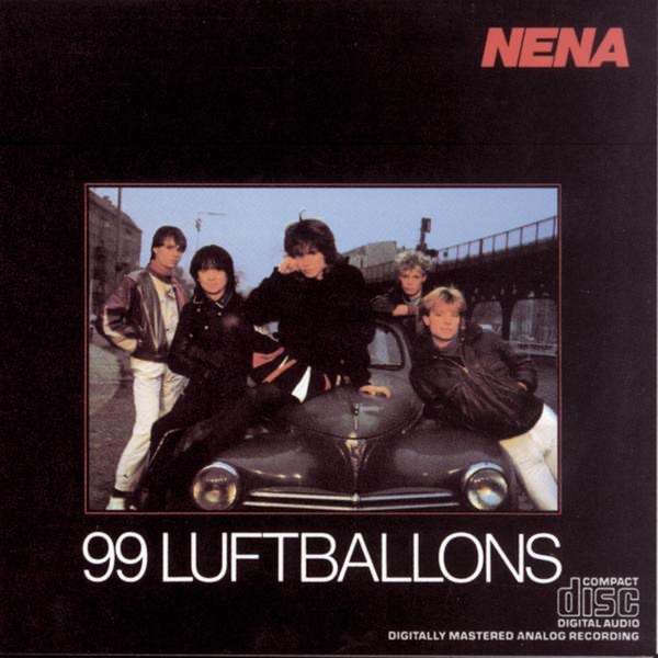 Cover art for 99 Red Balloons