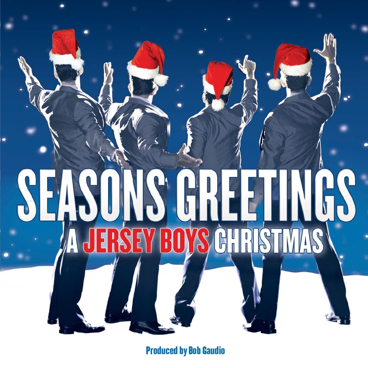 Seasons Greetings - A Jersey Boys Christmas Album Cover by Jersey Boys