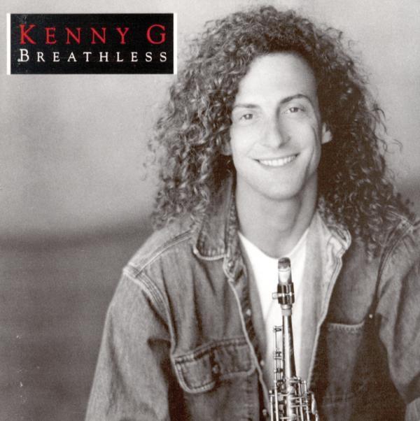 breathless kenny g cd cover