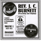 Rev. J.C. Burnett Vol. 1 (1926-1927)