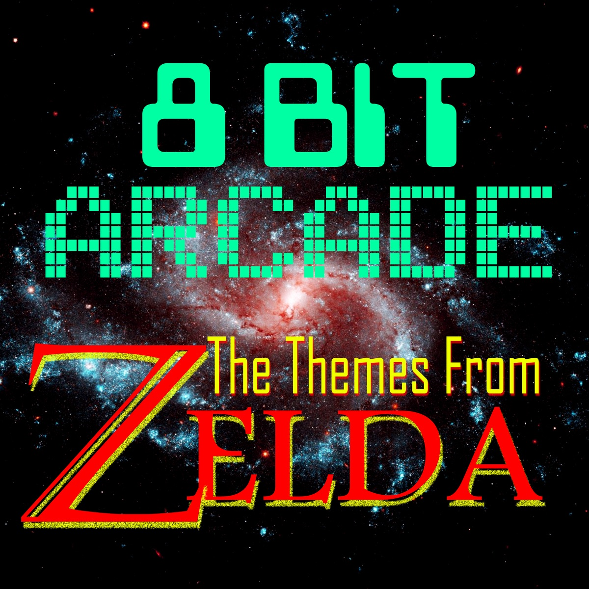 The Themes From Zelda 8-Bit Arcade CD cover