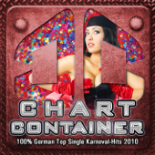 Chart Container - 100% German Top Single Karneval - Hits 2010