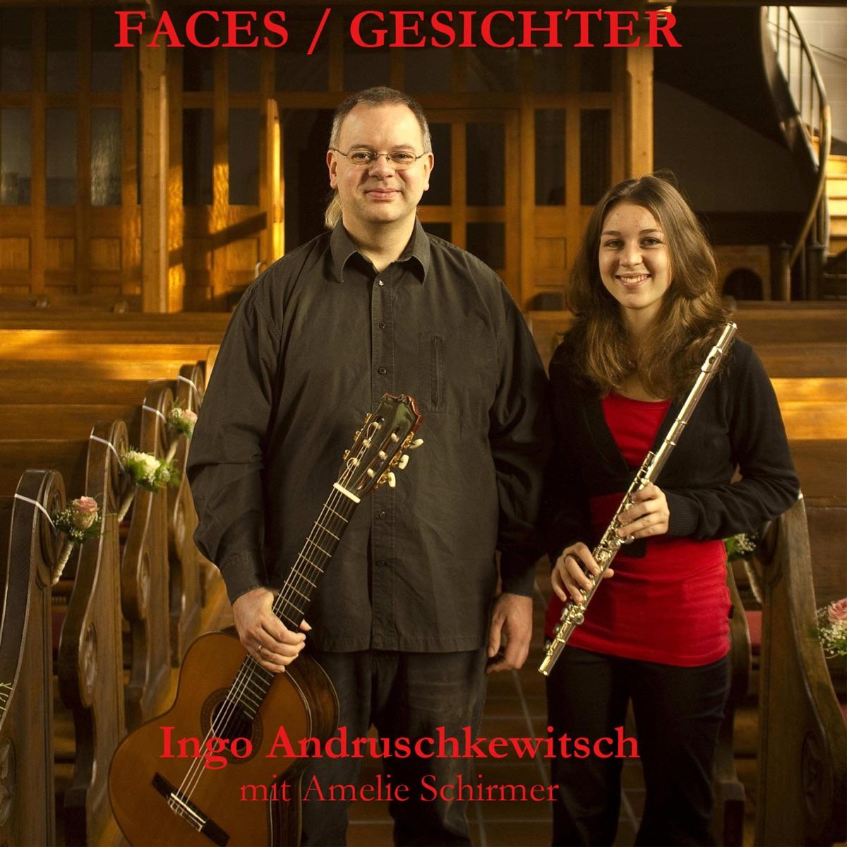 Faces  Gesichter Ingo Andruschkewitsch  Amelie Schirmer CD cover