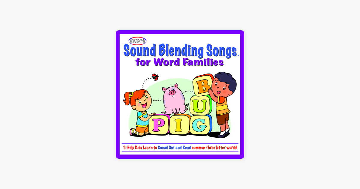 Sound Blending Songs by Heidi Butkus