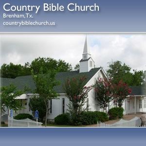 Country Bible Church - Recent Audios