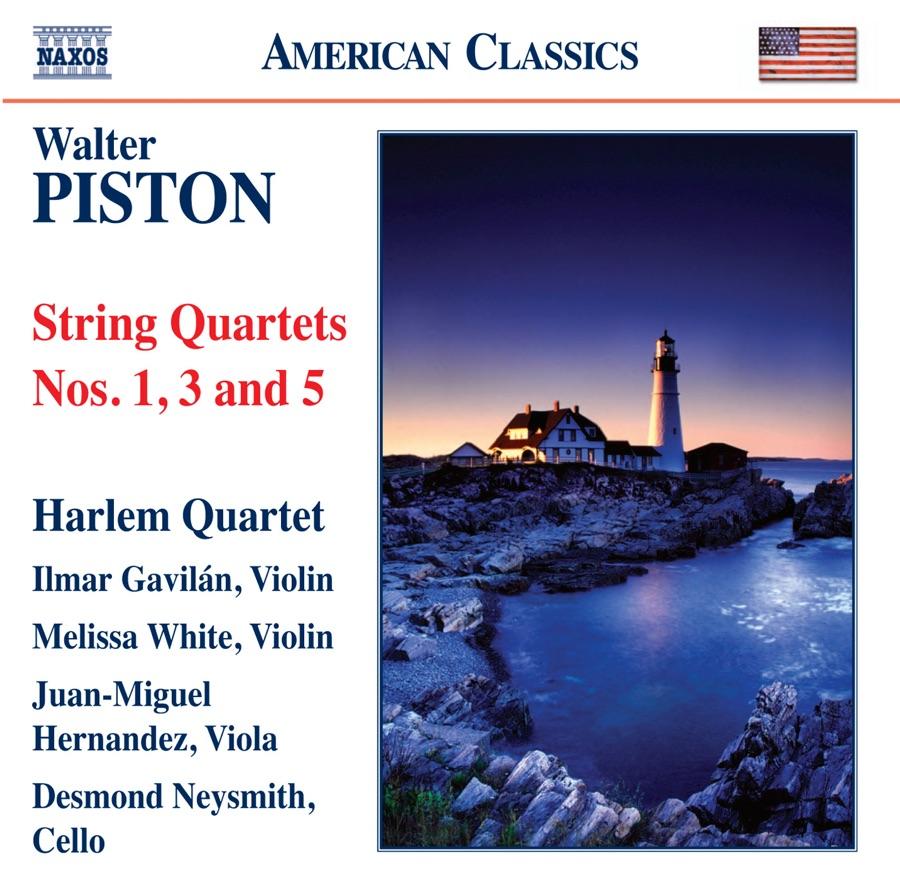 Harlem Quartet - Piston: String Quartets Nos. 1, 3 & 5