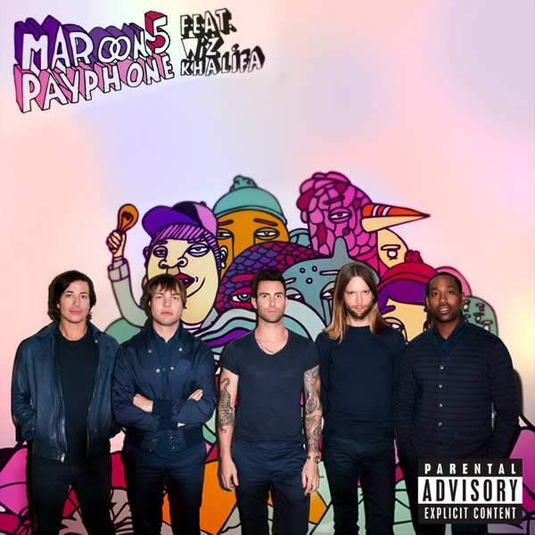Cover art for Payphone