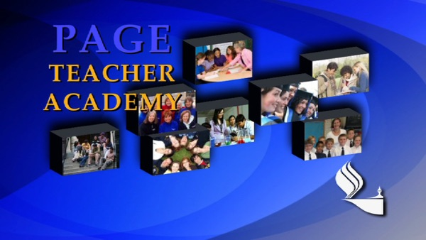 PAGE Teacher Academy