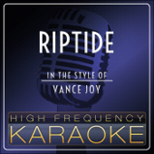 Riptide (Instrumental Version)-High Frequency Karaoke