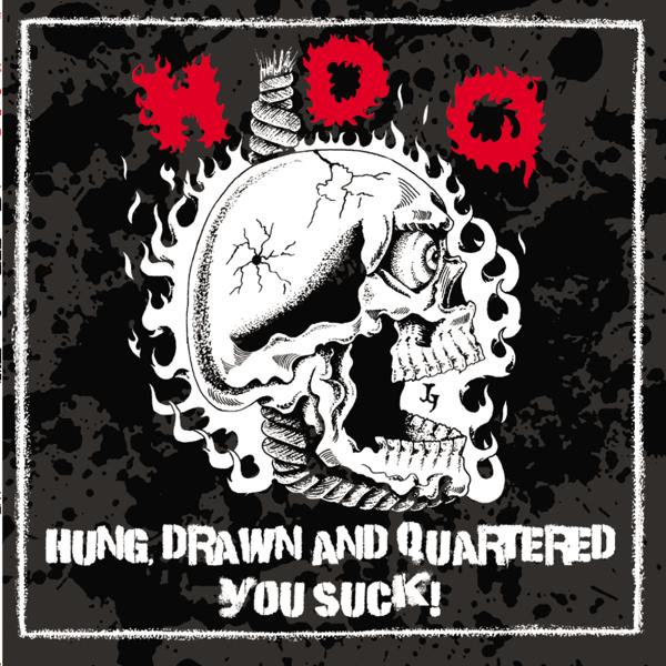 h d q の hung drawn and quartered をapple musicで