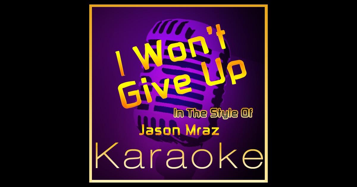 jason mraz karaoke