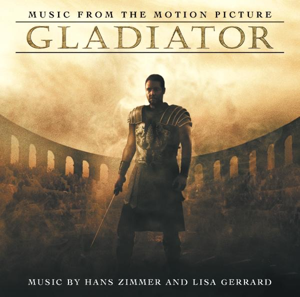 Gladiator Music from the Motion Picture Hans Zimmer  Lisa Gerrard CD cover