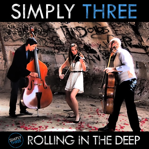 Rolling in the deep single by simply three for Simply singles