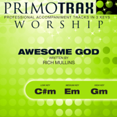 Awesome God - Worship Primotrax - Performance Tracks - EP