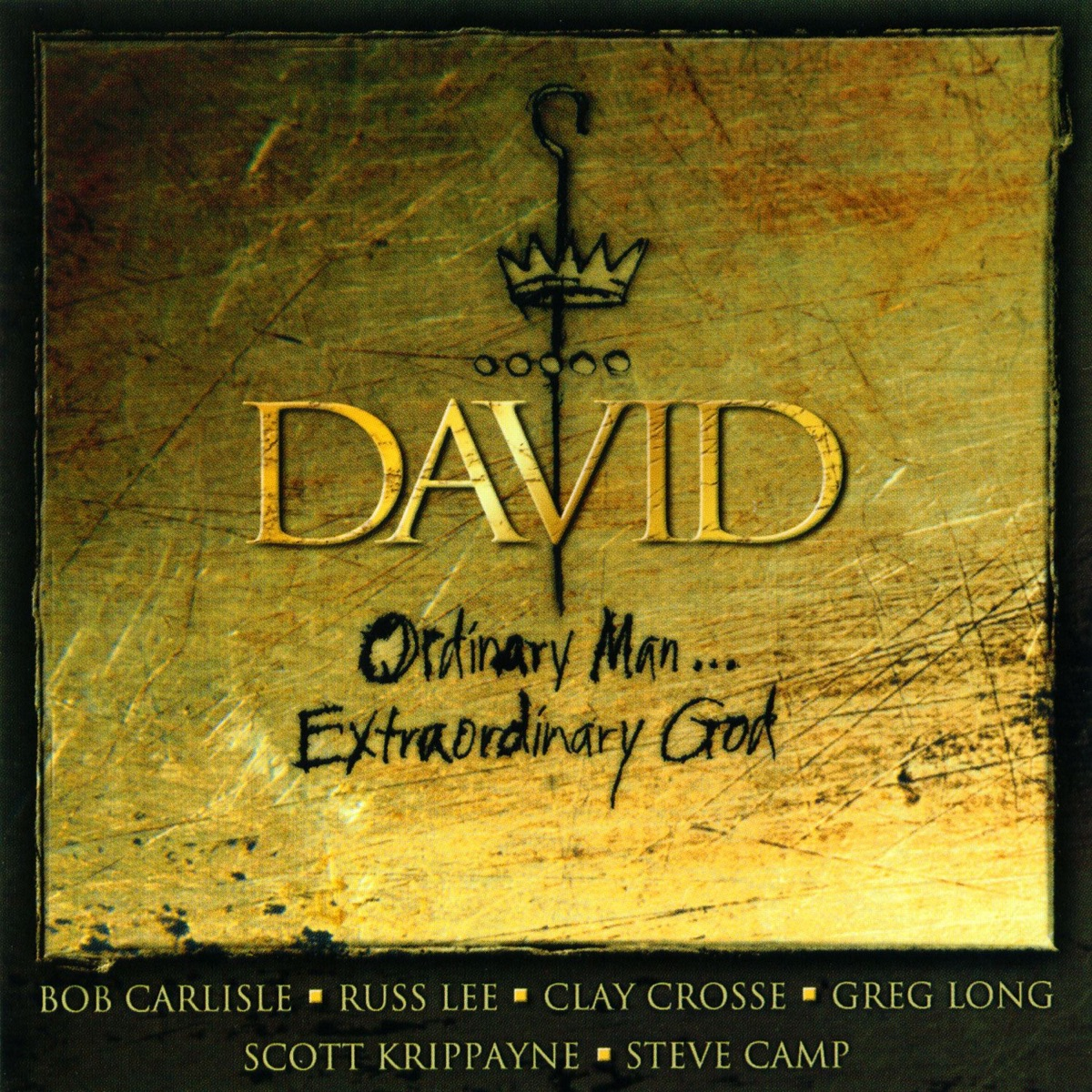David Ordinary Man Extraordinary God Various Artists CD cover