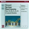 Mozart The Great Piano Concertos Vol 1