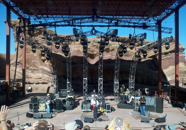 Live at Red Rocks 6/26/2011