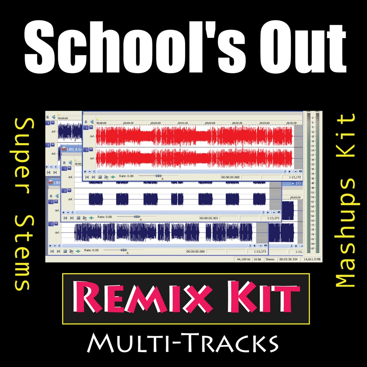 School's Out (133 BPM a Capella BG Vocals Only)